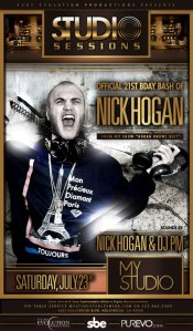 Nick Hogan's 21st Birthday - MyStudion Nightclub